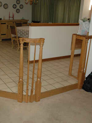 Hand rails - home remodeling in Colorado Springs for at-home senior living
